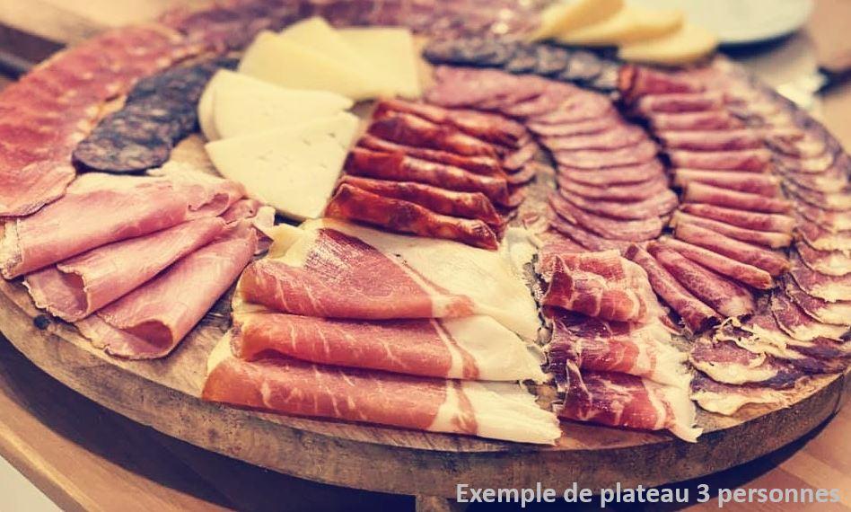 Plateau mix charcuteries <B>&</B> fromages espagnols / personne