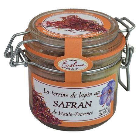Terrine de lapin au safran de Haute-Provence