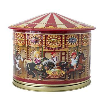 Carrousel musical avec gaufrettes